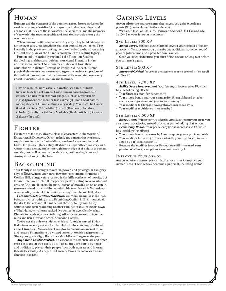 'Novo' logo, nova edição e a celebração dos 40 anos de D&D! - Página 2 Ficha-Next-Starter-verso