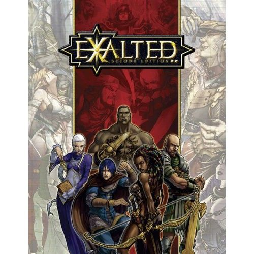 Exalted 2nd Ed cover