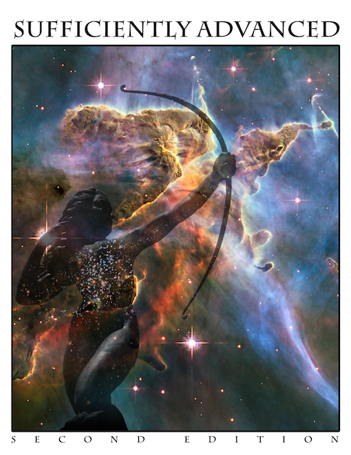 Capa da 2ª edição de Sufficiently Advanced