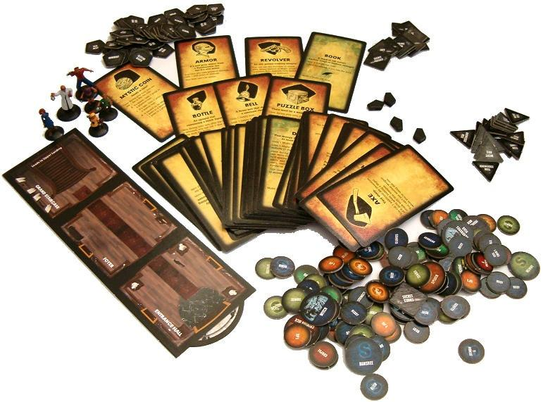 Betrayal At House On The Hill O Boardgame Resenha Rederpg