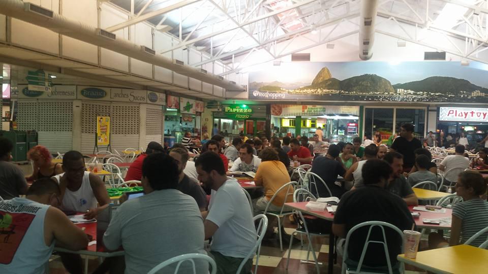 Encontro da REDERPG no Rio Shopping