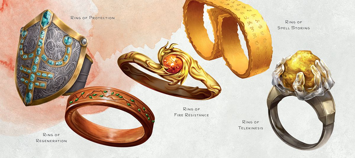 Dnd Magic Ring Story
