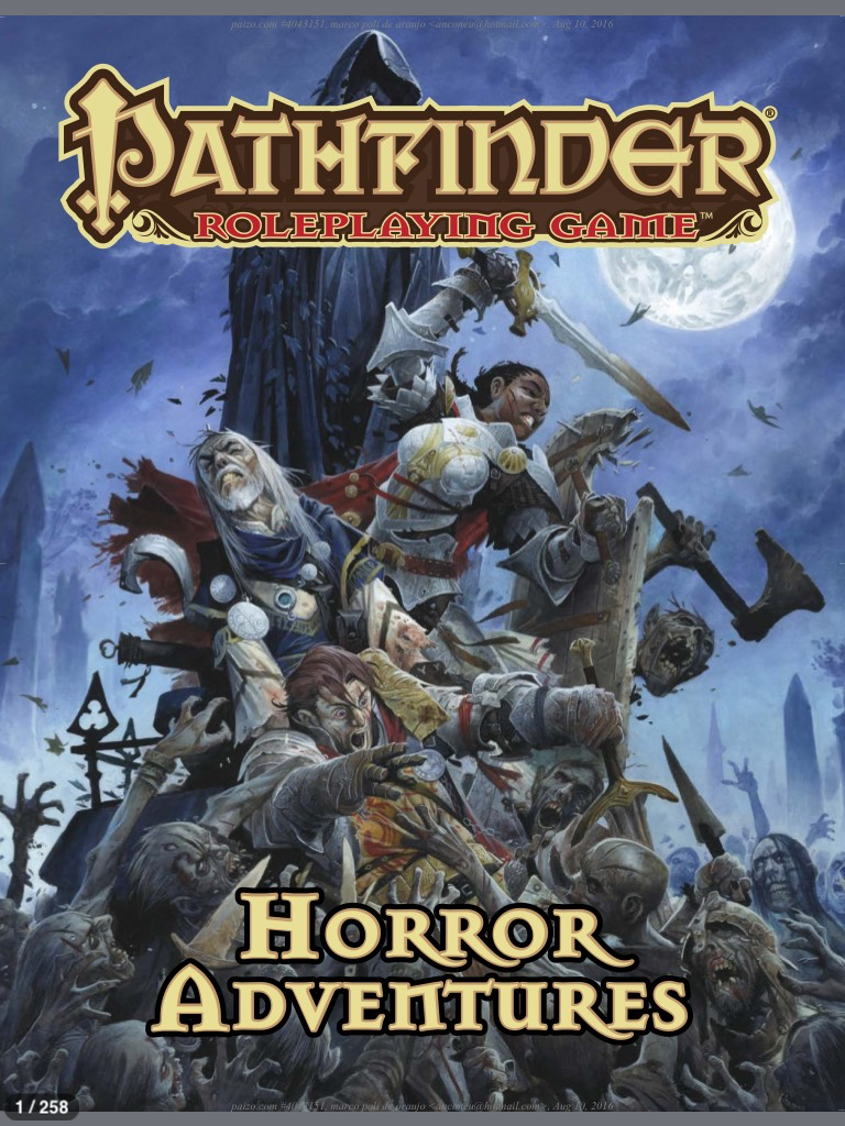 Pathfinder Horror