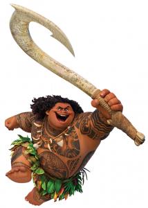 Maui, um exemplo de herói na acepção original.
