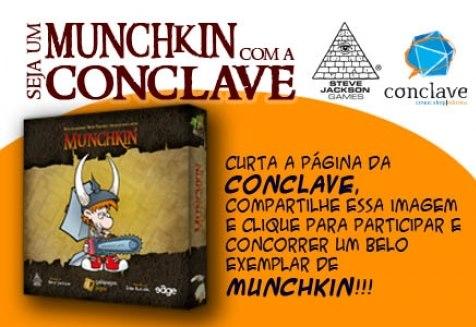 Promoção Seja um Munchkin com a Conclave