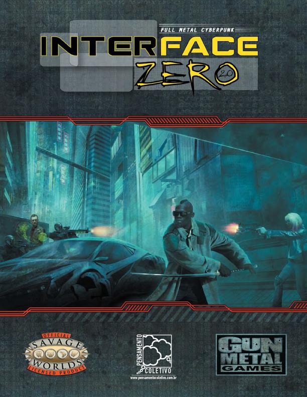 Interface Zero 2.0 - A capa do Livro Básico