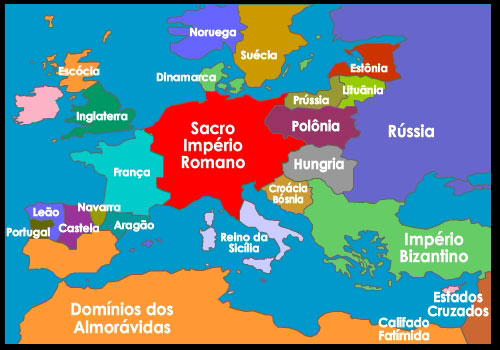 Europa em 1190 DC