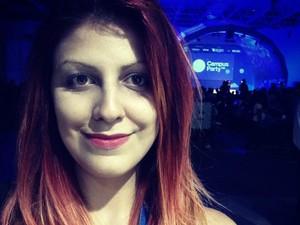 Marielle irá falar sobre aplicação do Storytelling ao RPG (Foto: Marielle Zum Bach/Arquivo Pessoal)
