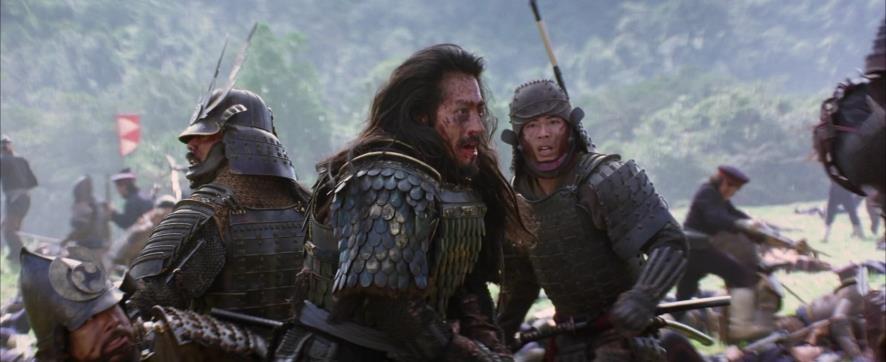 """O filme """"O Último Samurai"""", exemplo de combate mais realista."""