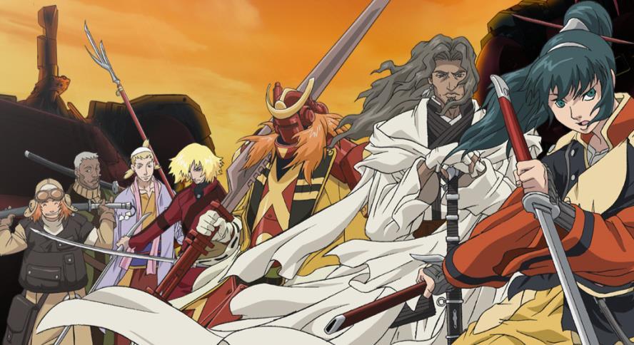 """Samurai 7"", anime inspirado no filme ""Os Sete Samurais"""
