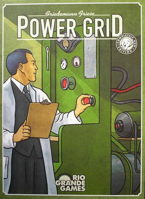 A capa do Power Grid