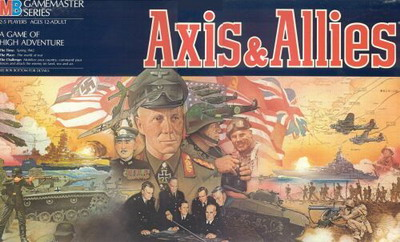 O Axis and Allies original – Fonte: Boardgamegeek