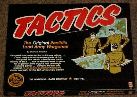 O Tactics com sua capa original – Fonte: Boardgamegeek