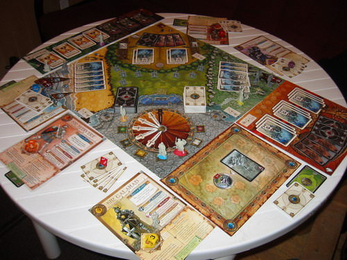 O Shadows Over Camelot – Fonte: Boardgamegeek