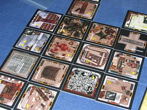 Exemplo de jogo no Betrayal - Fonte: Boardgamegeek