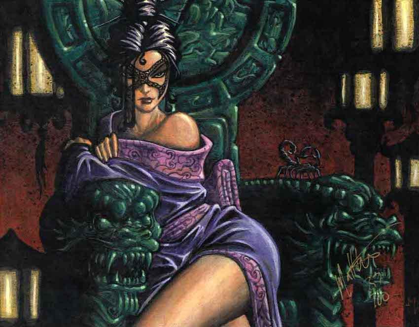 Bayushi Kachiko, a Mãe dos Escorpiões.