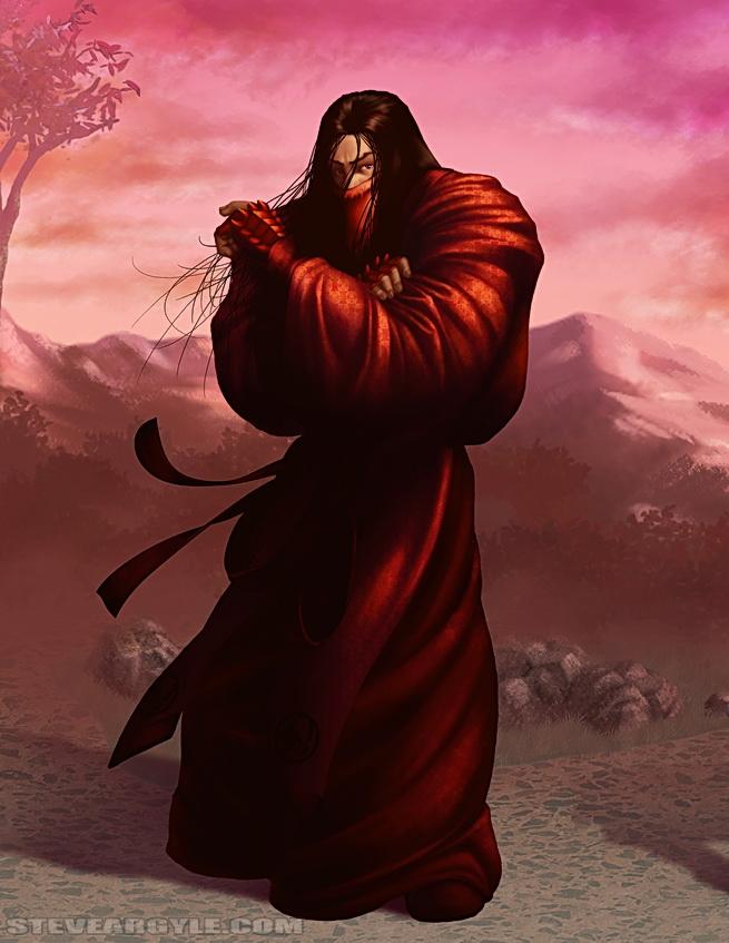 Bayushi, o primeiro Escorpião.