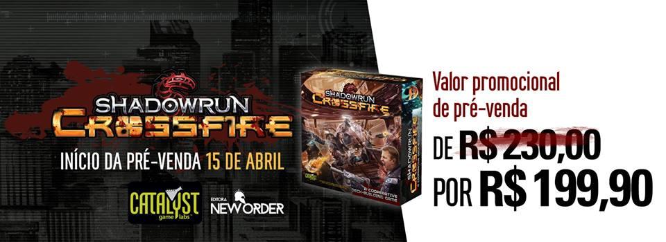 Shadowrun Crossfire pré-venda