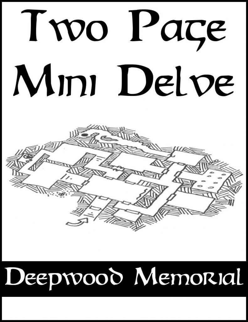 Two Page Mini Delve