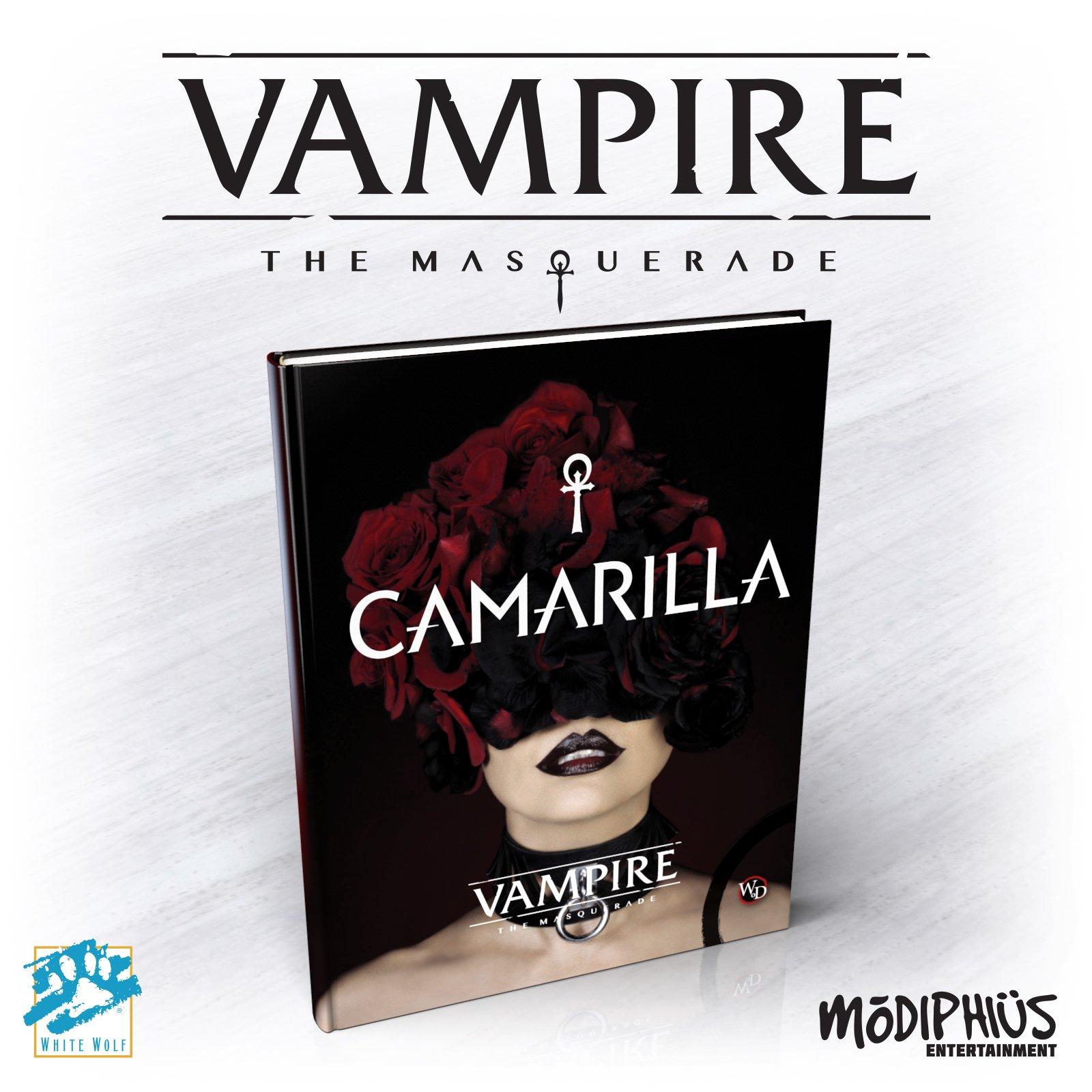 Vampiro: A Máscara 5ª Edição: The Camarilla, o livro que derrubou a